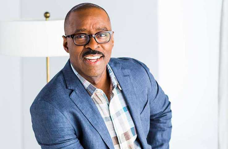 Actor and Guideposts cover star Courtney B. Vance