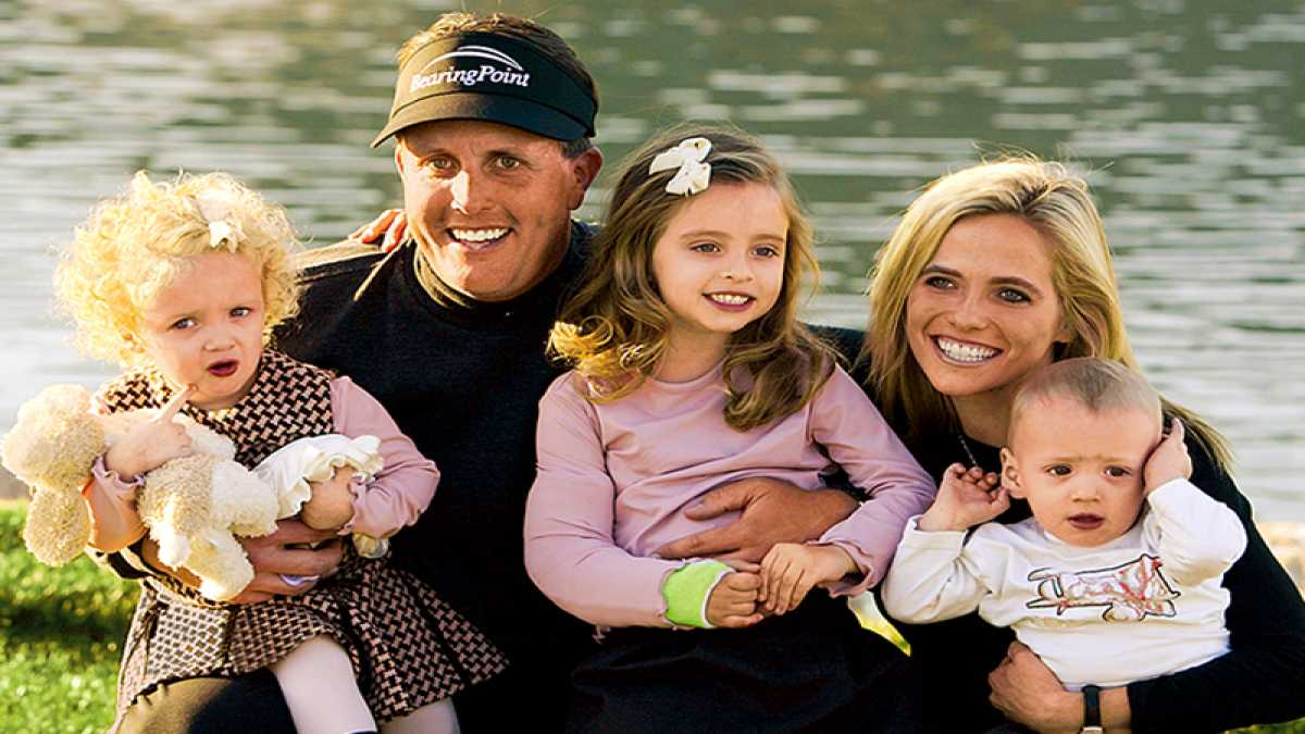 For Phil Mickelson Family Comes First