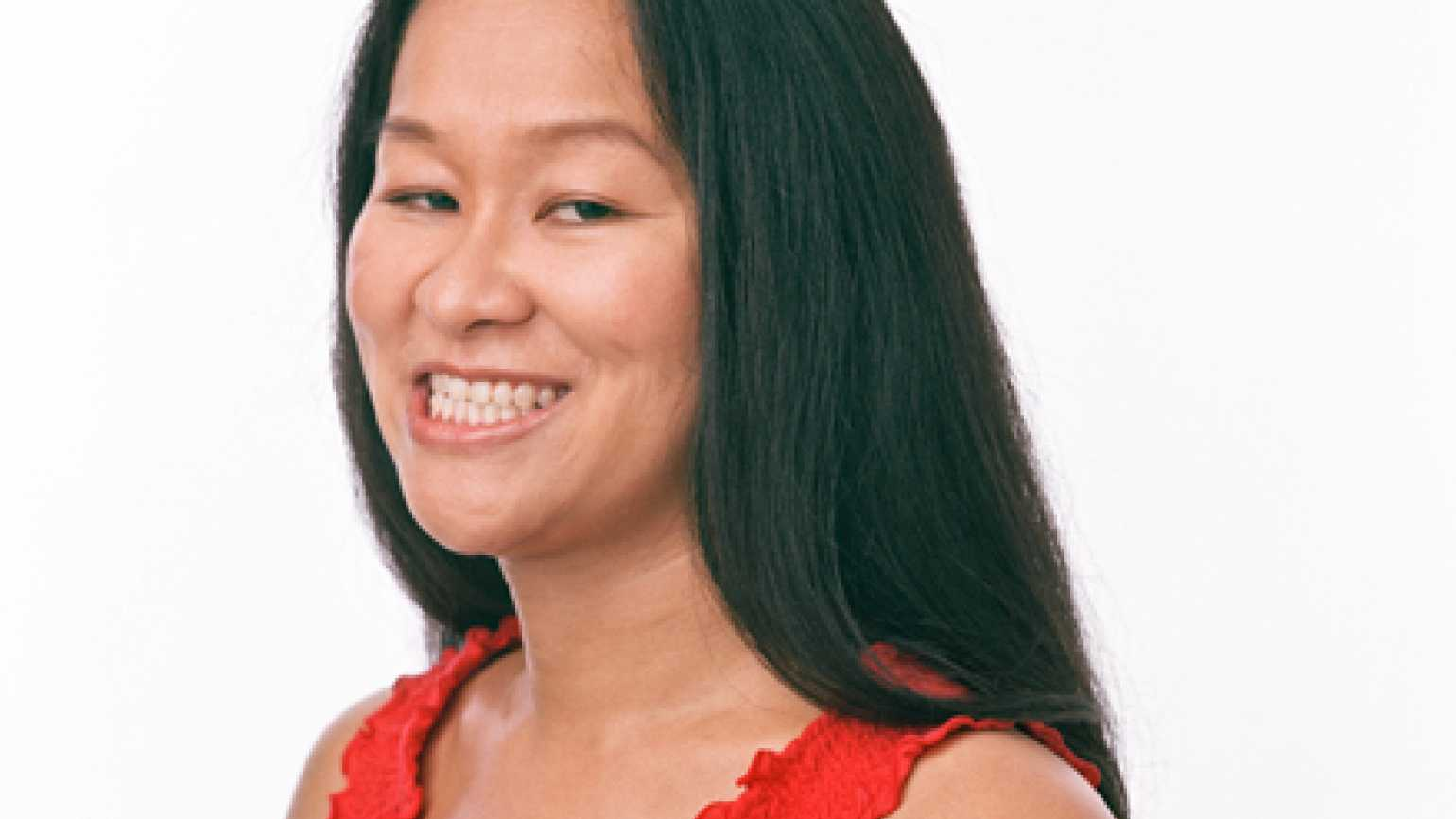 Amy Wong talks about positive thinking