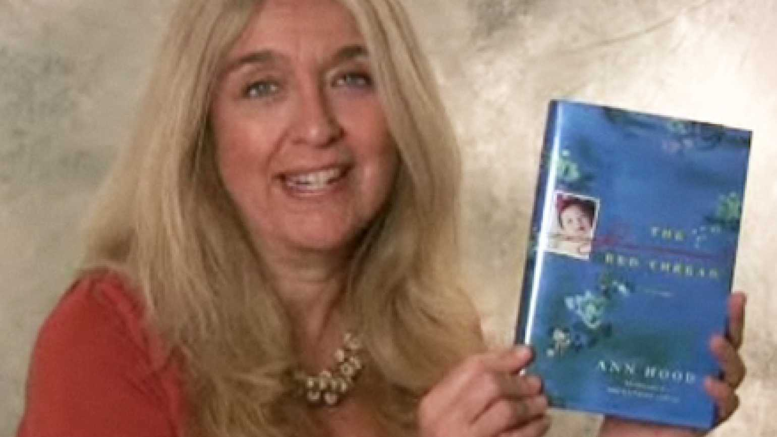 "Ann Hood and her book ""The Red Thread"""