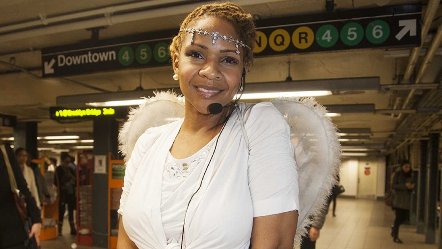 Guideposts: Martina Bruno, angel of the NYC subway