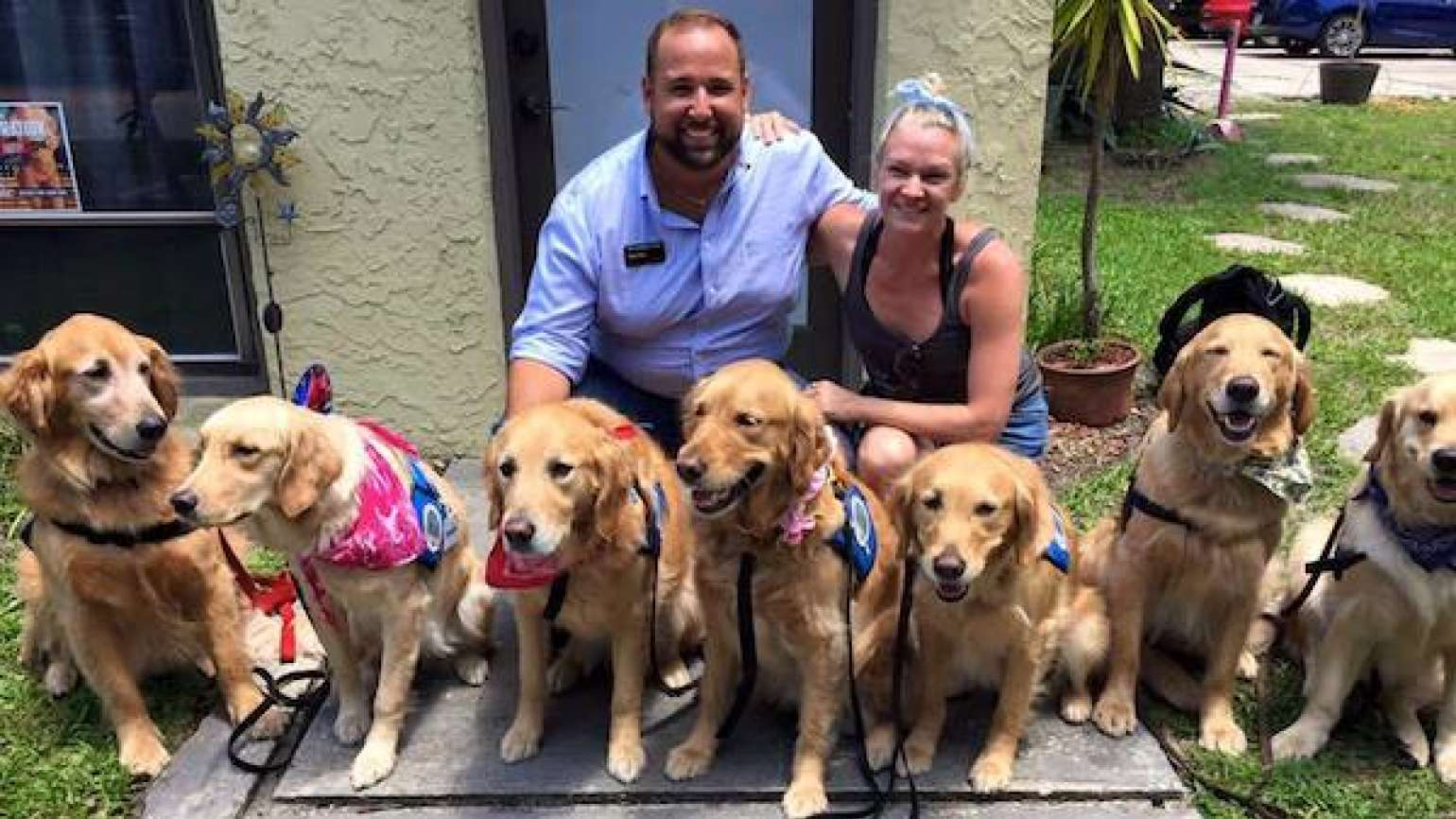 Photo: Lutheran Church Charities K-9 Comfort Dogs/Facebook