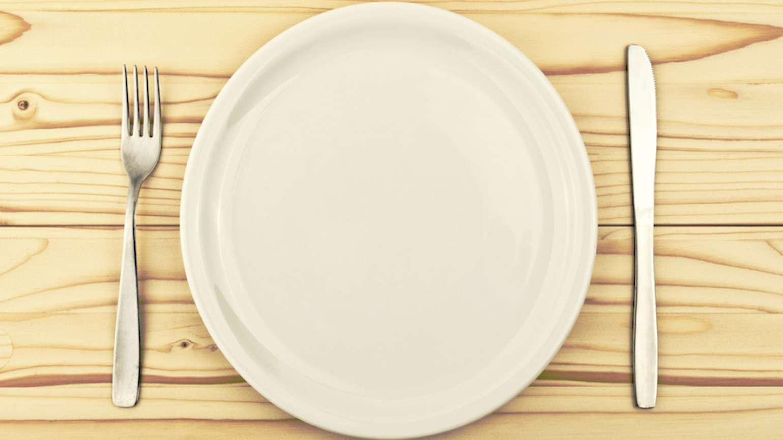 An empty plate. Photo by Igor Stevanovic, Thinkstock.
