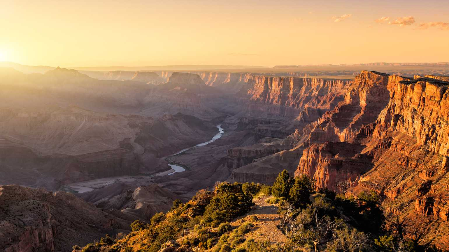 Family vacation at Grand Canyon National Park