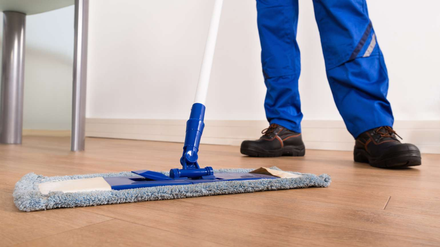 Bless those who mop floors.