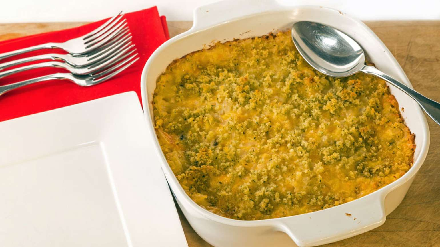 Earth angel recipe: Crabmeat au gratin