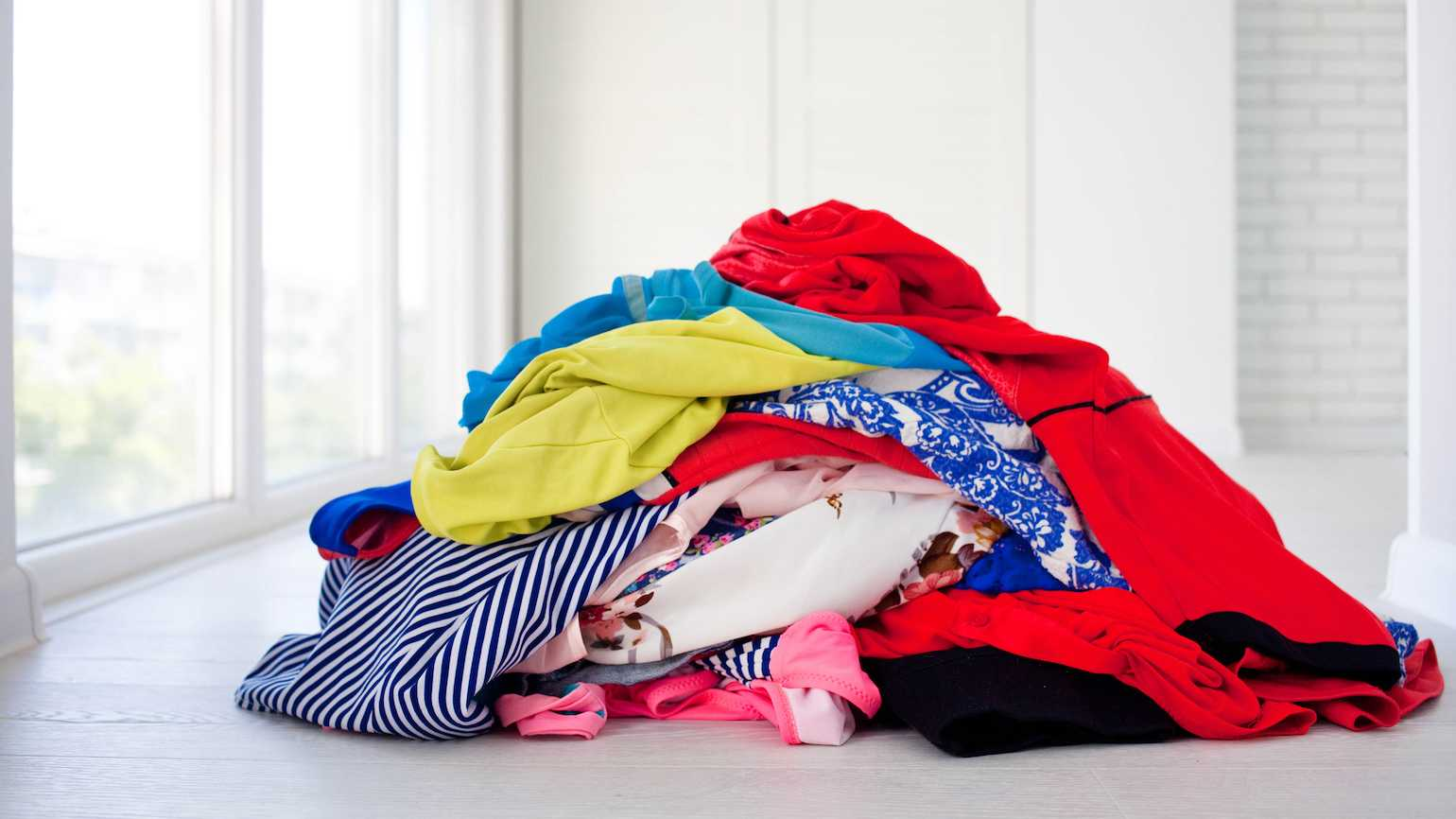 How to finish a decluttering project