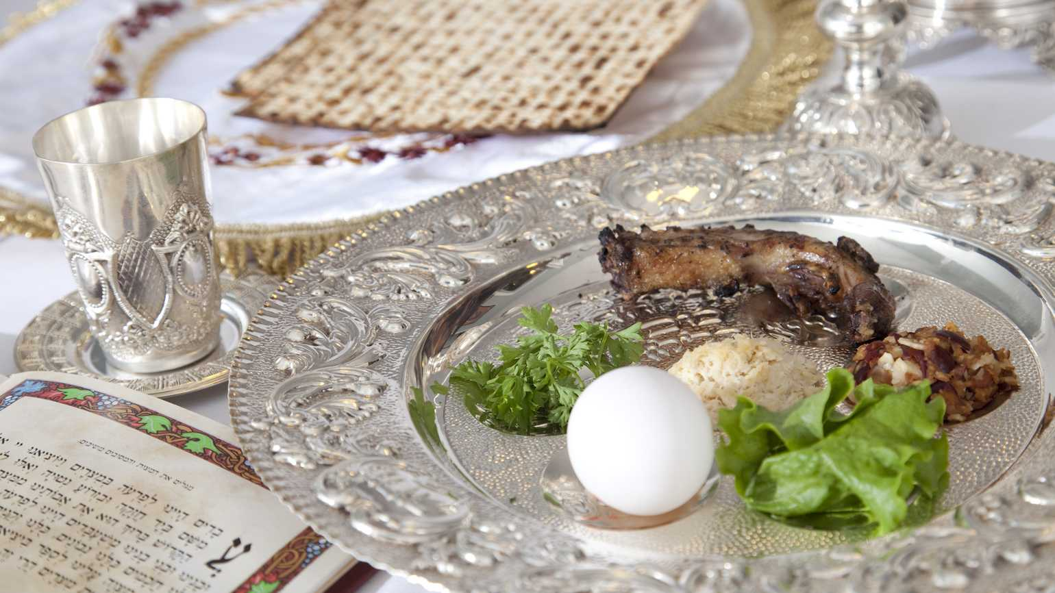 Seder at Passover