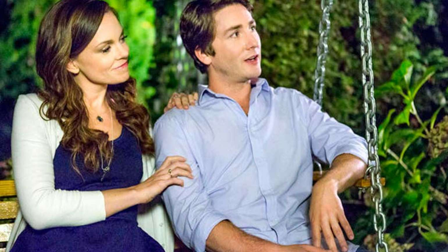 Rachel Boston and Jesse Moss in A Gift of Miracles, Guideposts