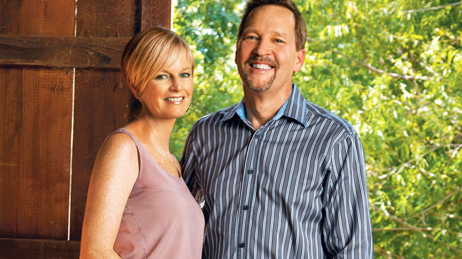 Amy Hauser with husband Tom