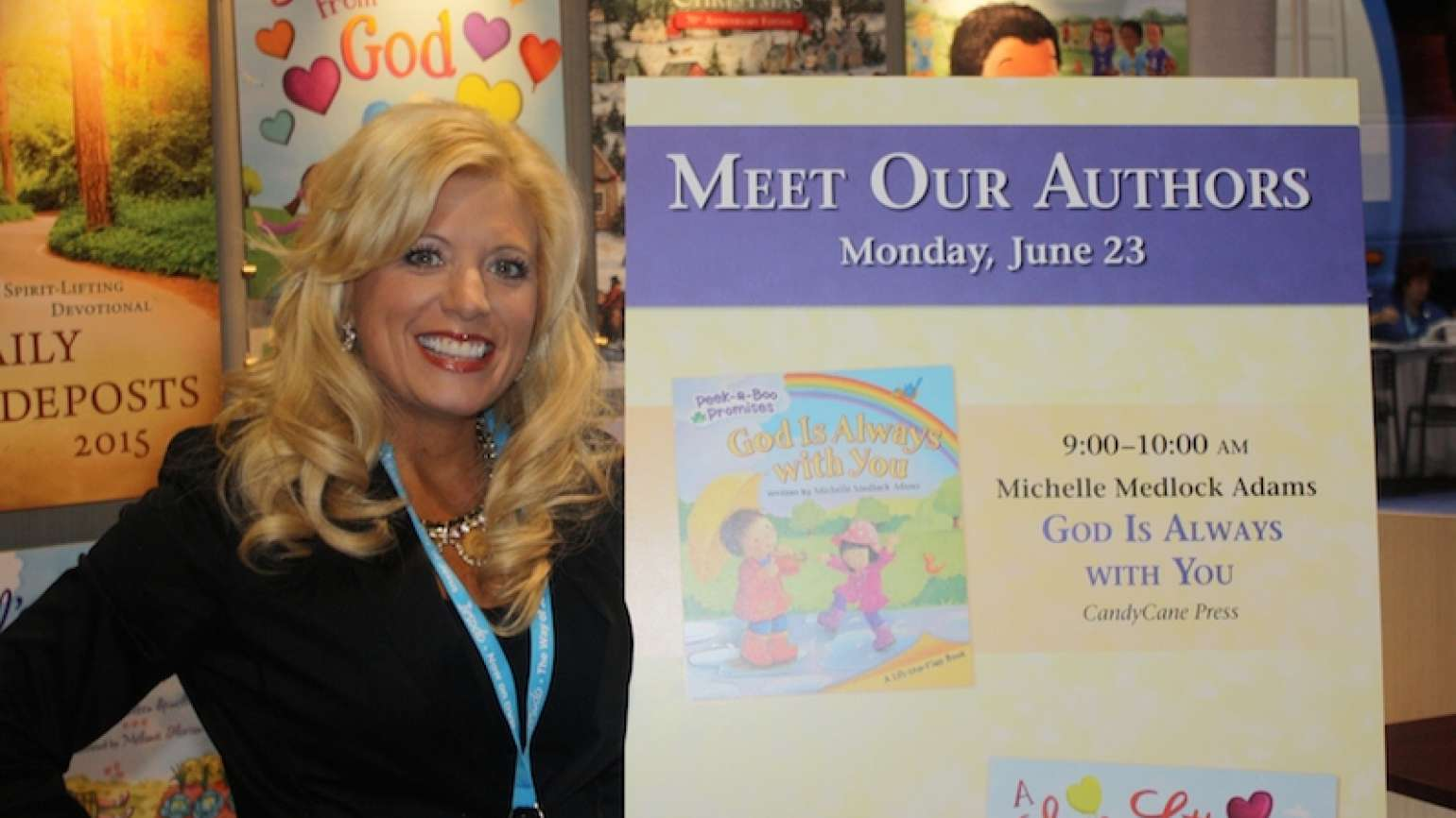 Michelle Adams became an author thanks to encouragement.