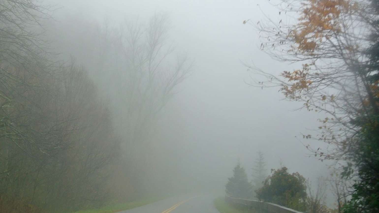 Driving through a fog of fear. Photo by Edie Melson.