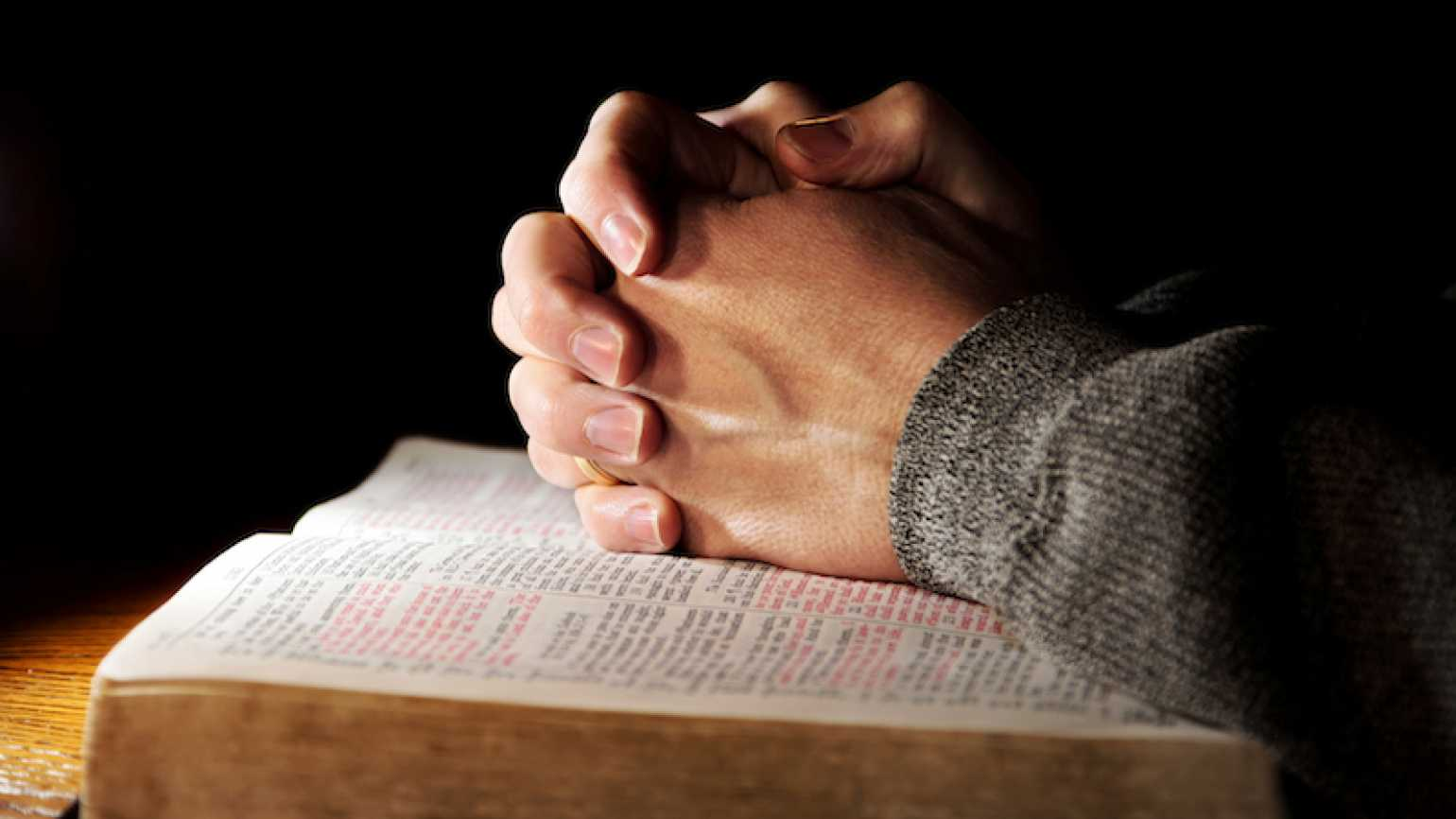 Photo of praying hands by Lincoln Rogers for Thinkstock, Getty Images