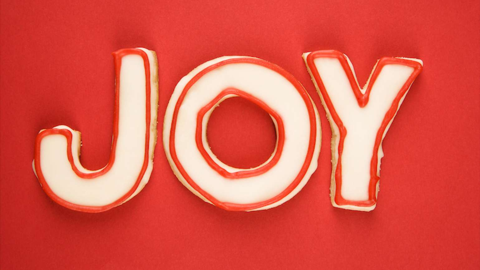 Joy spelled out! Photo by Ron+Chapple+Stock, Thinkstock.