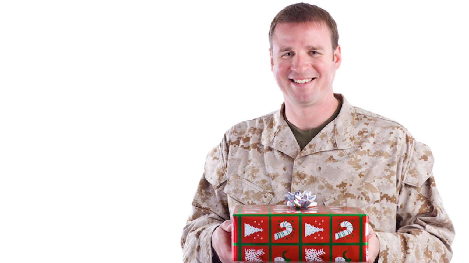Gift list for soldiers. Photo by Jason Swarr for Thinkstock, Getty Images.