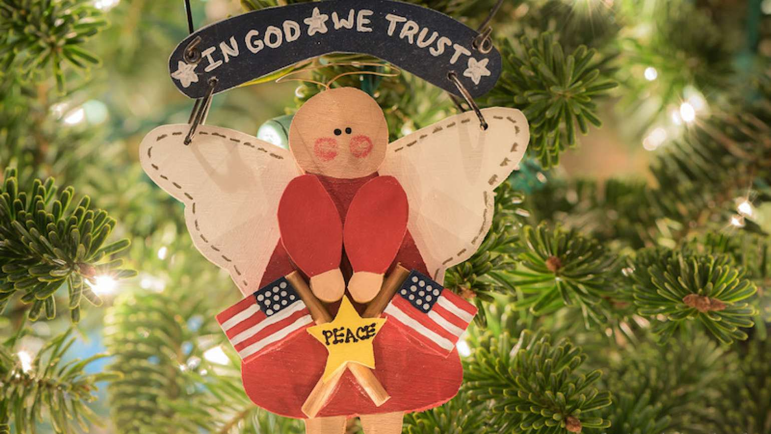 A replica of the ornament that went to Washington! Photo by Judy Royal Glenn.