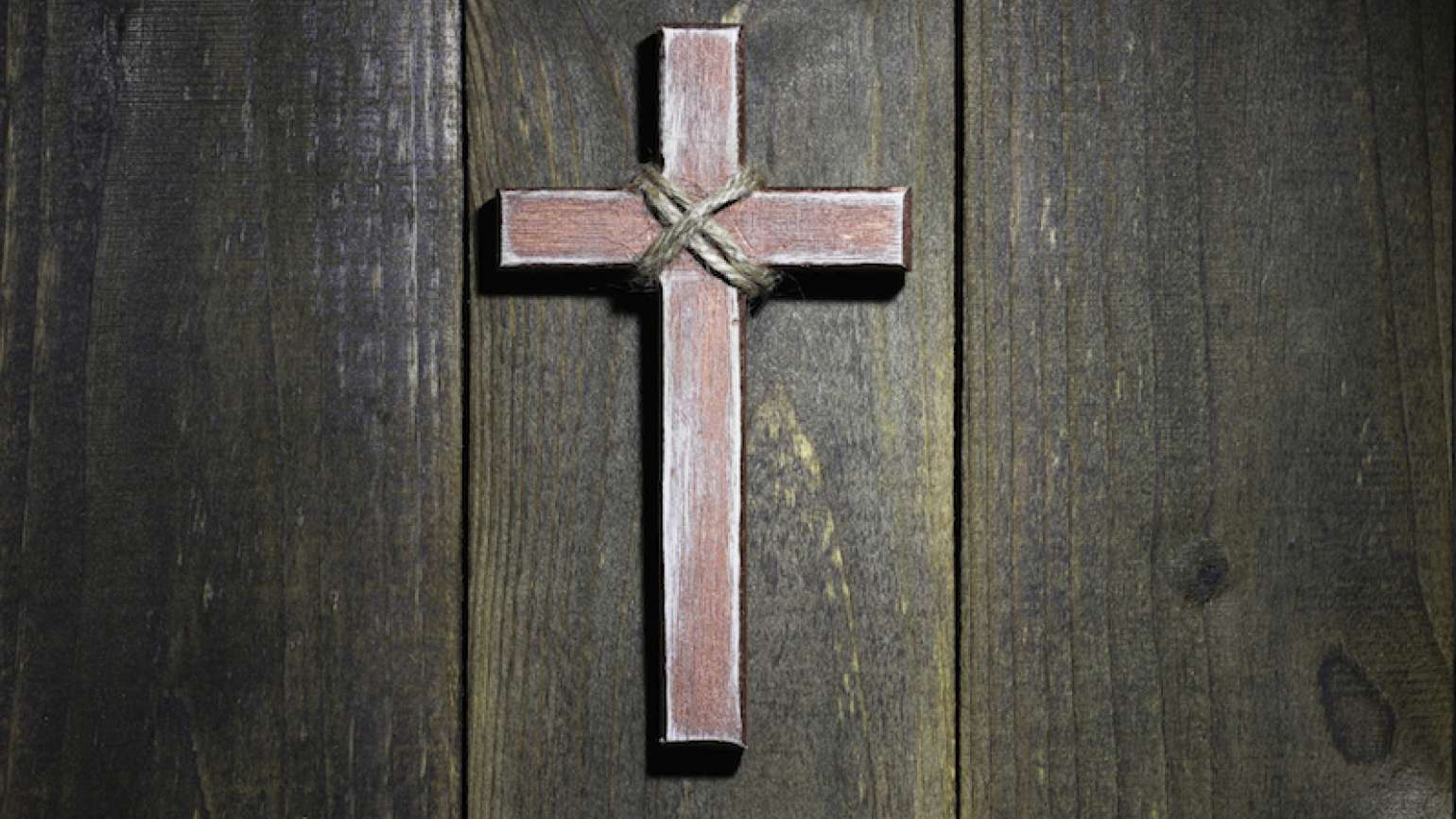A simple cross. Photo by laurha, Thinkstock.