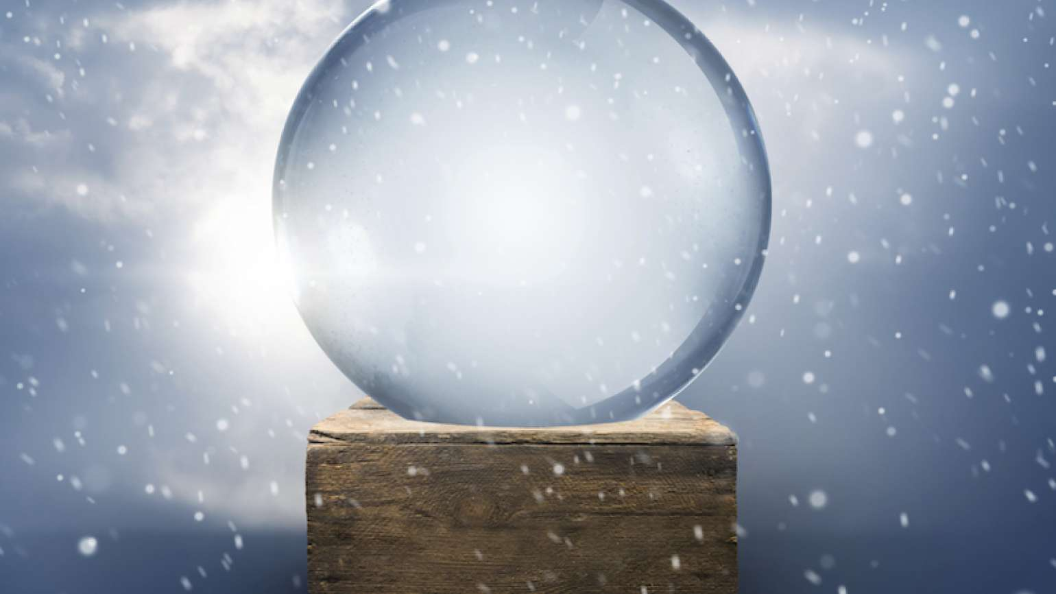 A fragile snow globe. Photo by Solar Seven, Thinkstock.