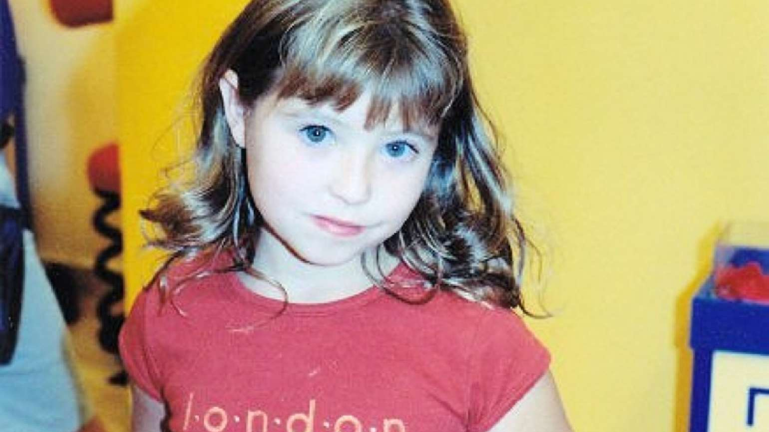 Inspirational Stories blogger Michelle Medlock Adams' daughter Abby as a child