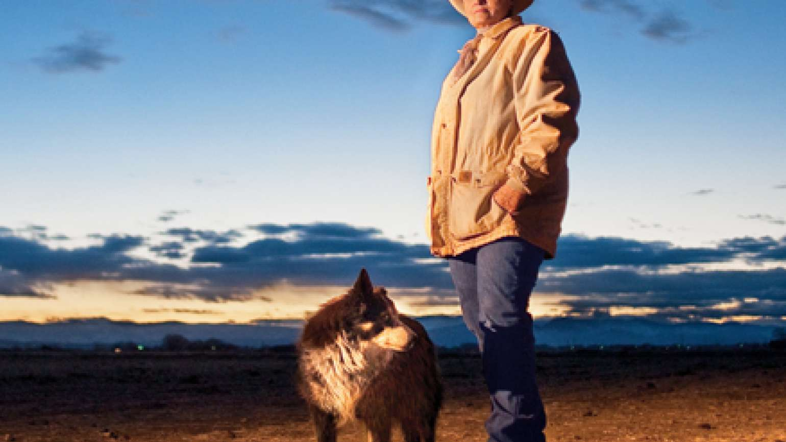Susan Stone and her dog Smoky Joe