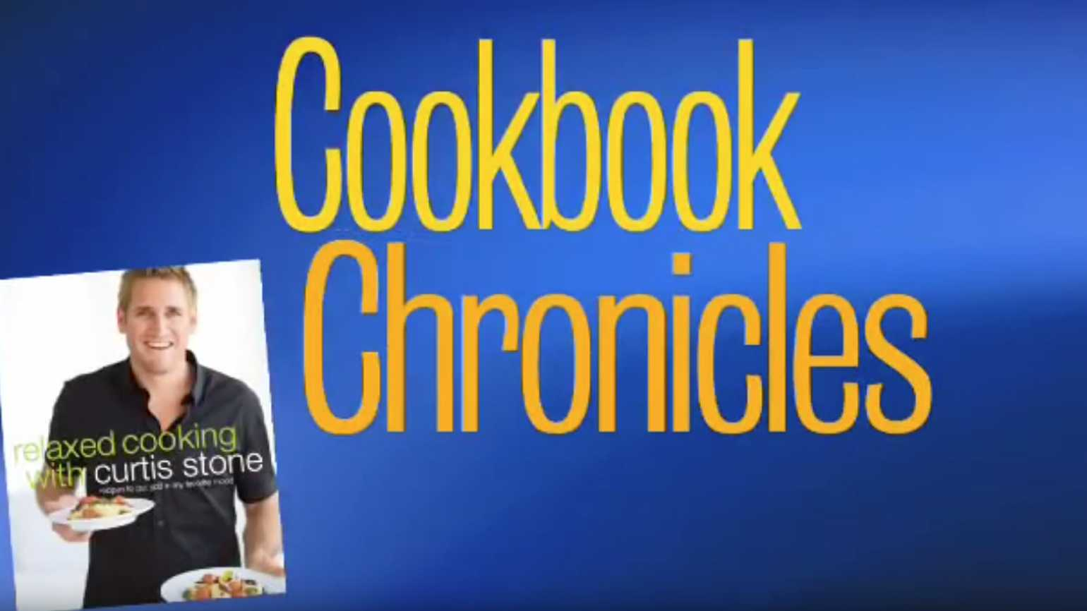 Cookbook Chronicles: Curtis Stone