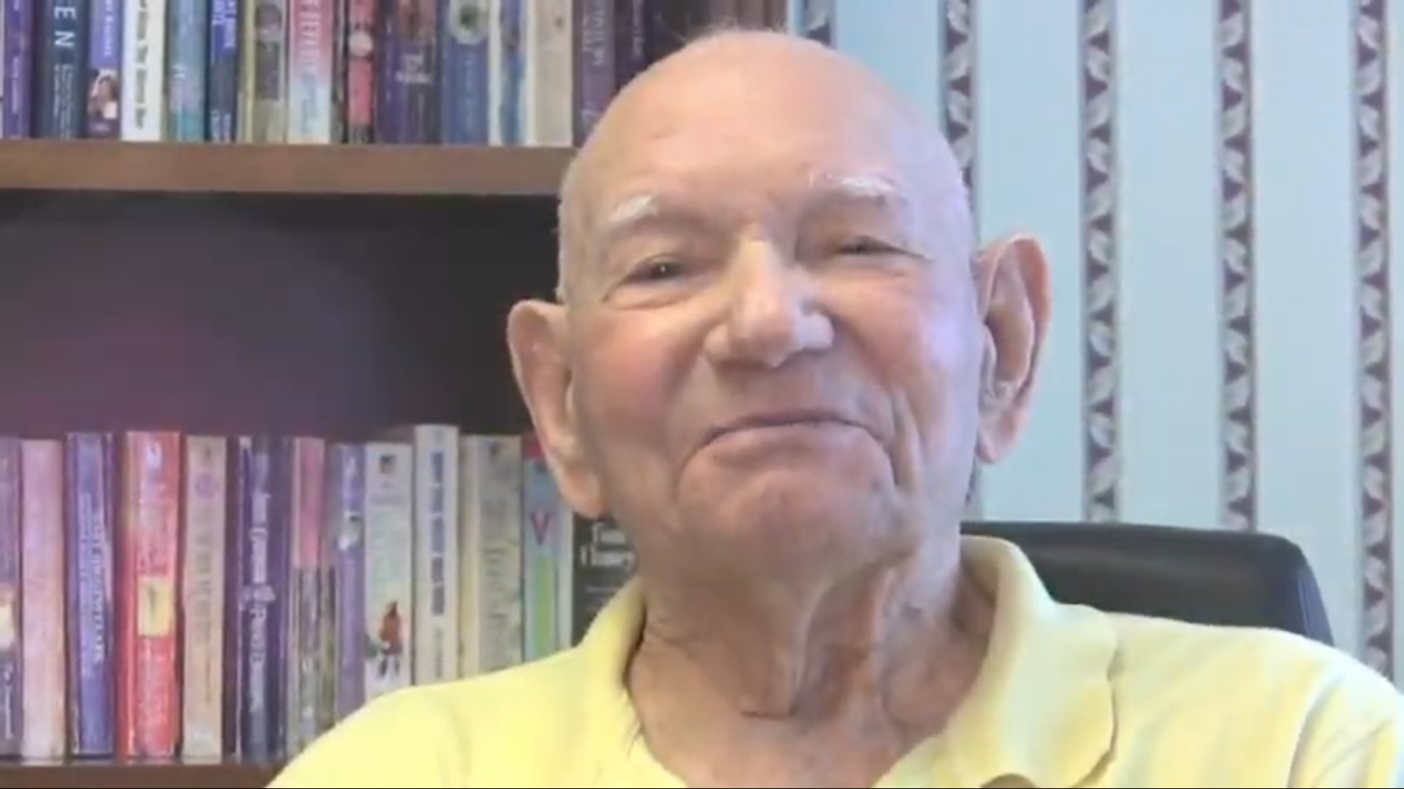 Generation Inspiration: He Learned to Read at 90-Plus