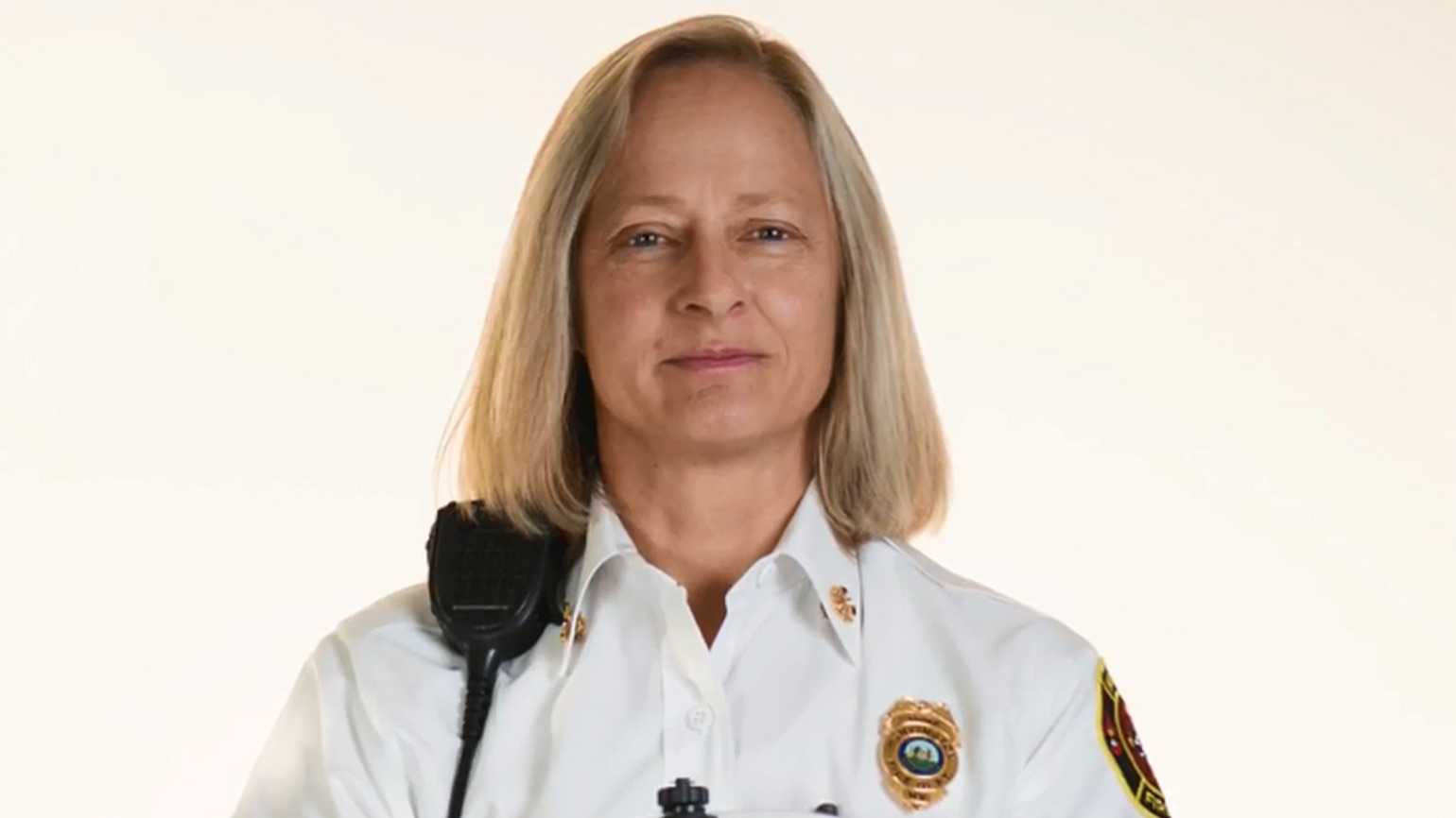 Jan Rader, fire chief in Huntington, West Virginia