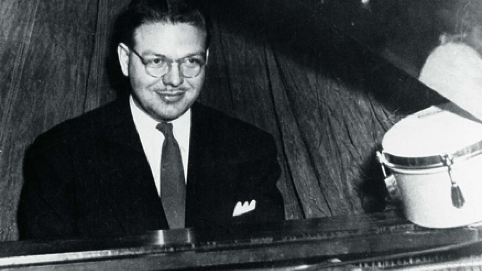 John Duckworth at the piano, ca. 1960