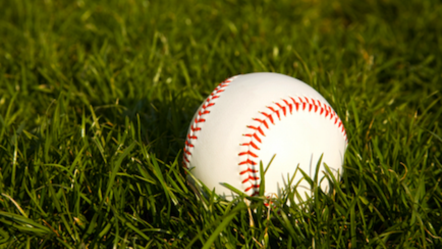 A baseball in the grass is an answered prayer.