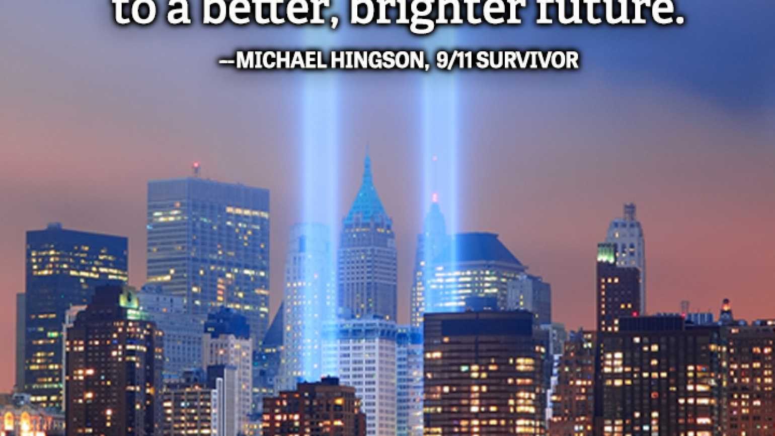 Michael Hingson quote God 9/11 better brighter future