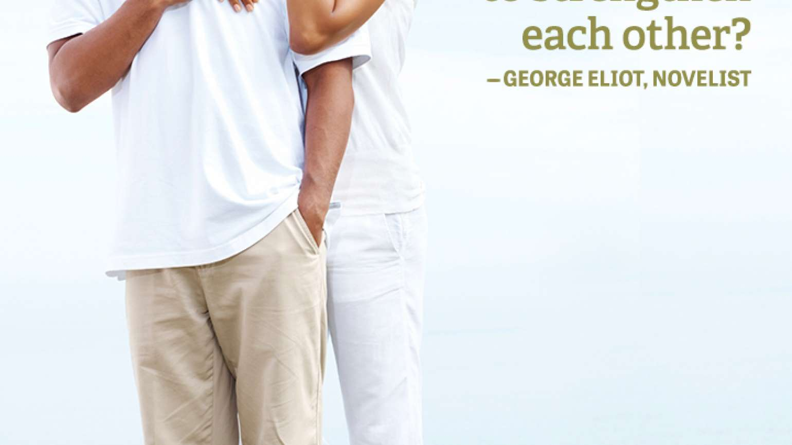 George Eliot quote marriage strengthen union