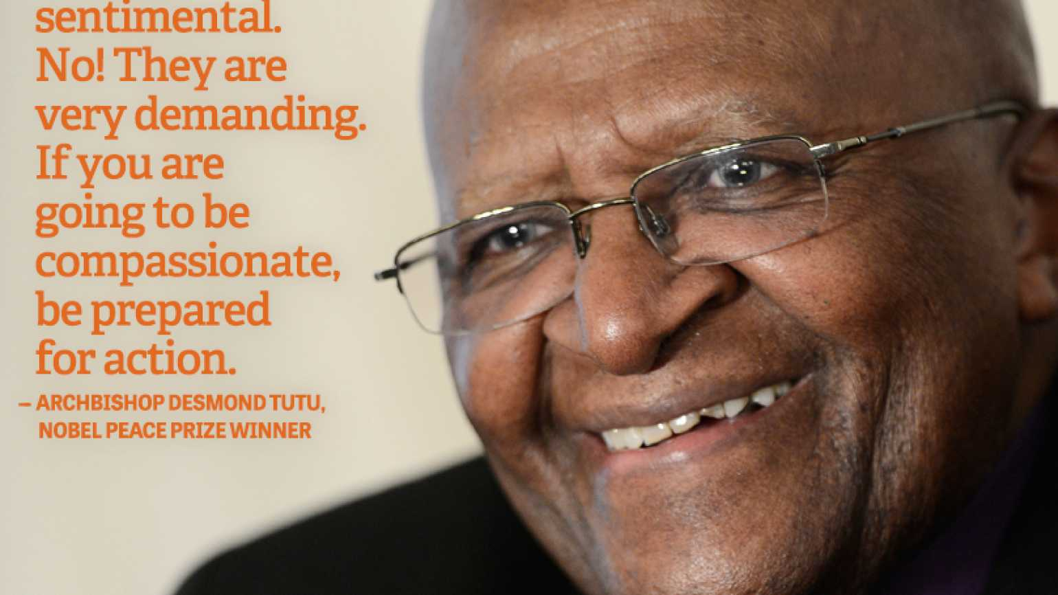 Desmond Tutu Quote Helping Others Love Compassion