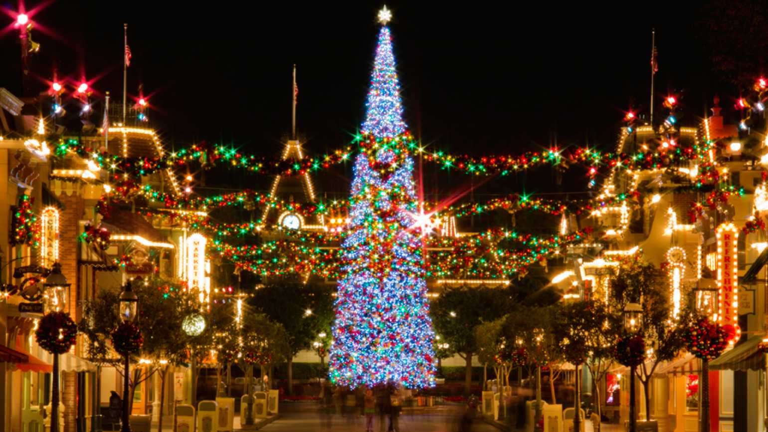 Guideposts: This tree at Disneyland is just one of 11 in our collection of Christmas trees across America