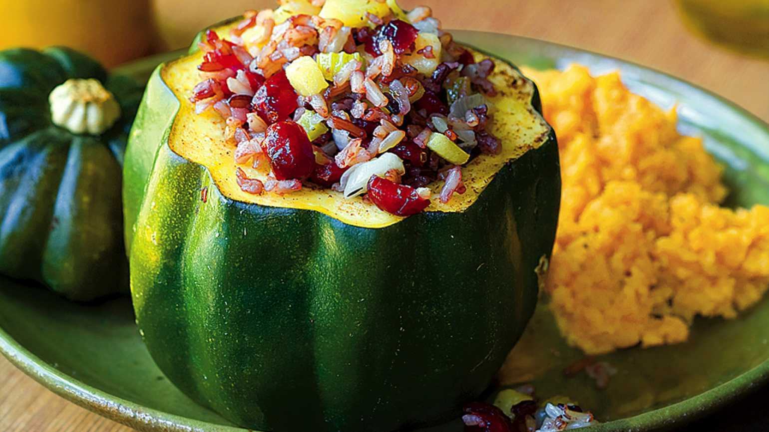 Guideposts: Squash Stuffed with Rice Medley