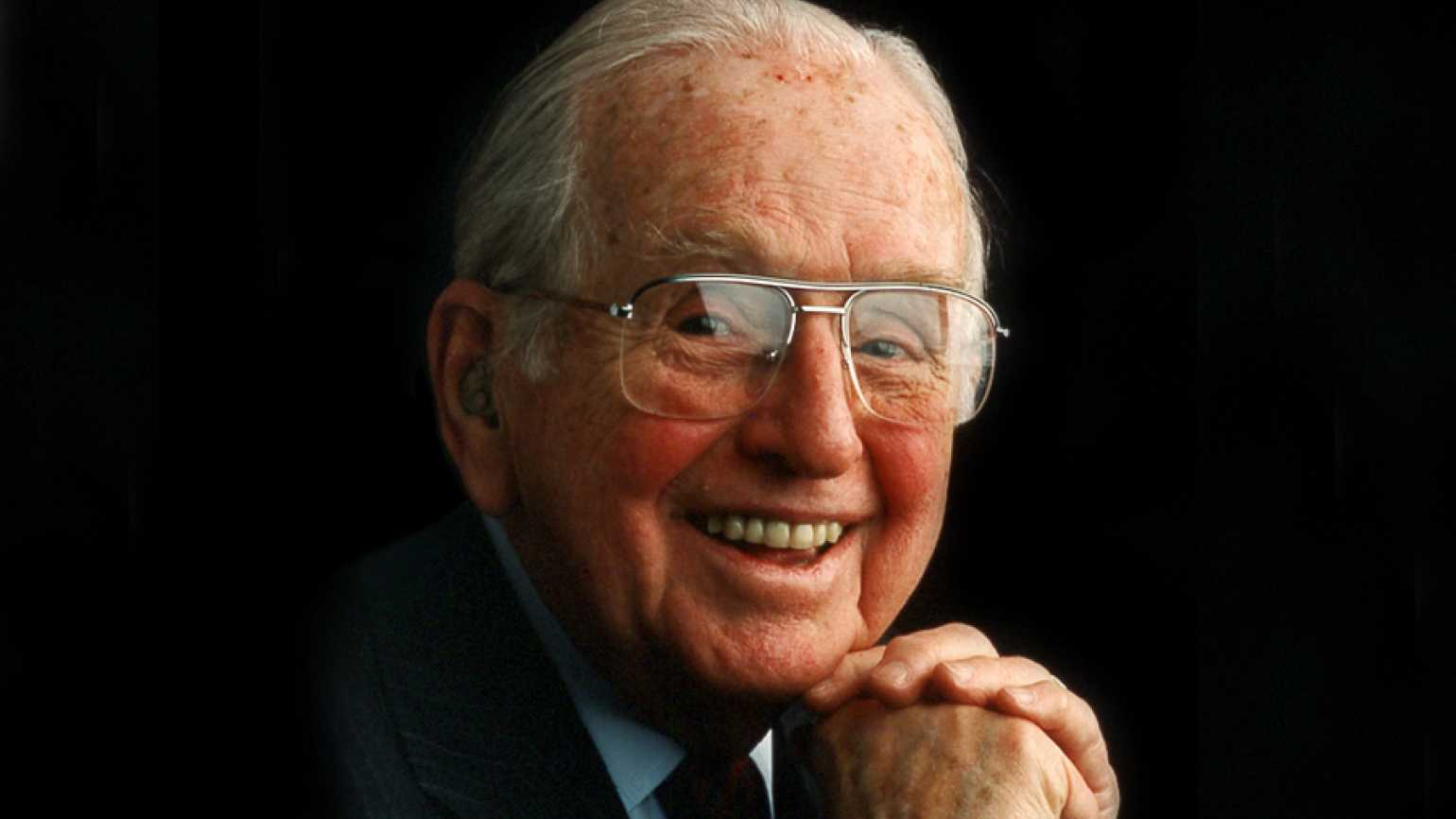 Dr. Norman Vincent Peale, pastor, author and founder of Guideposts magazine