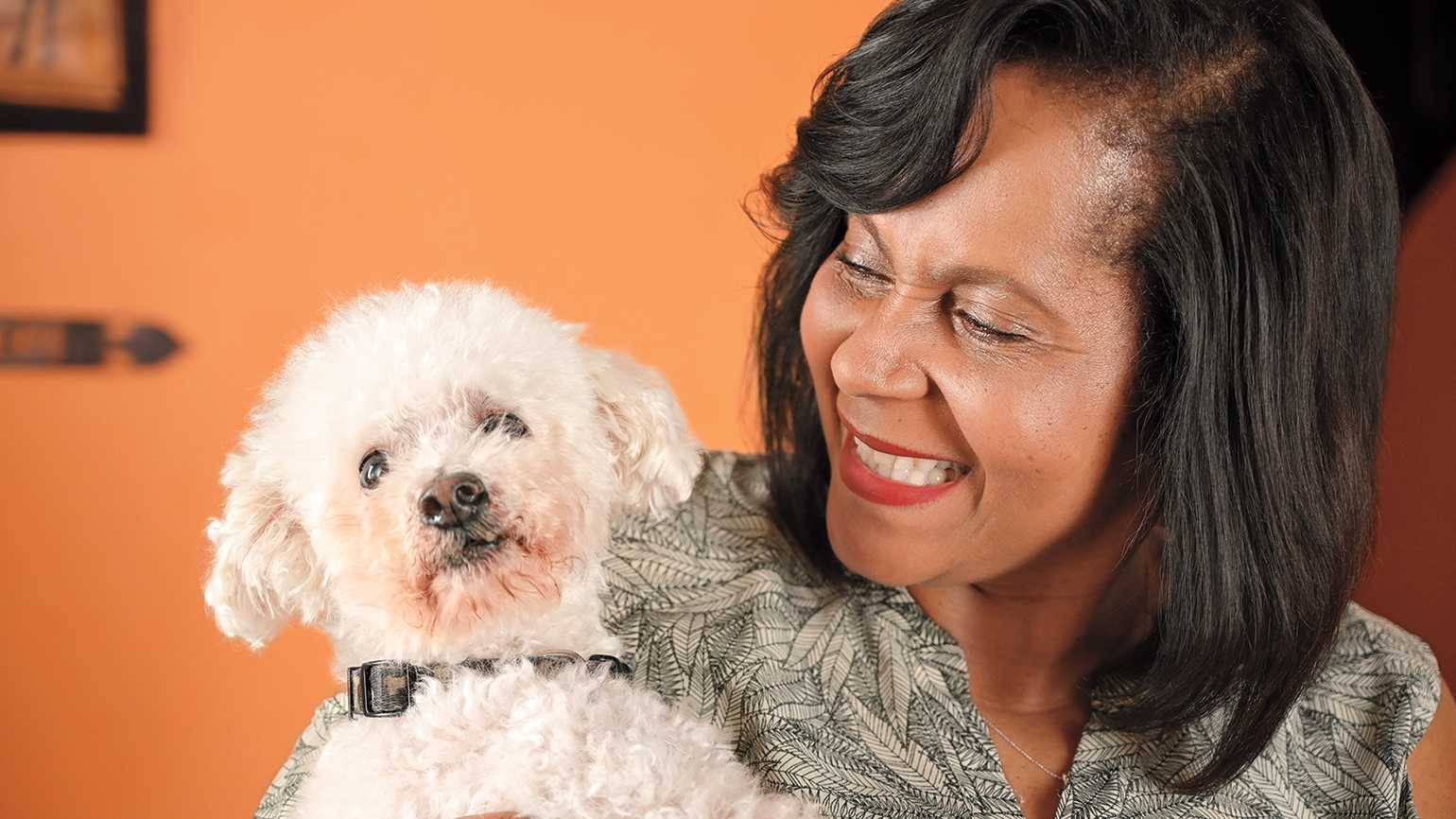 'He always knew where Mom was,' Edwina says about Beethoven