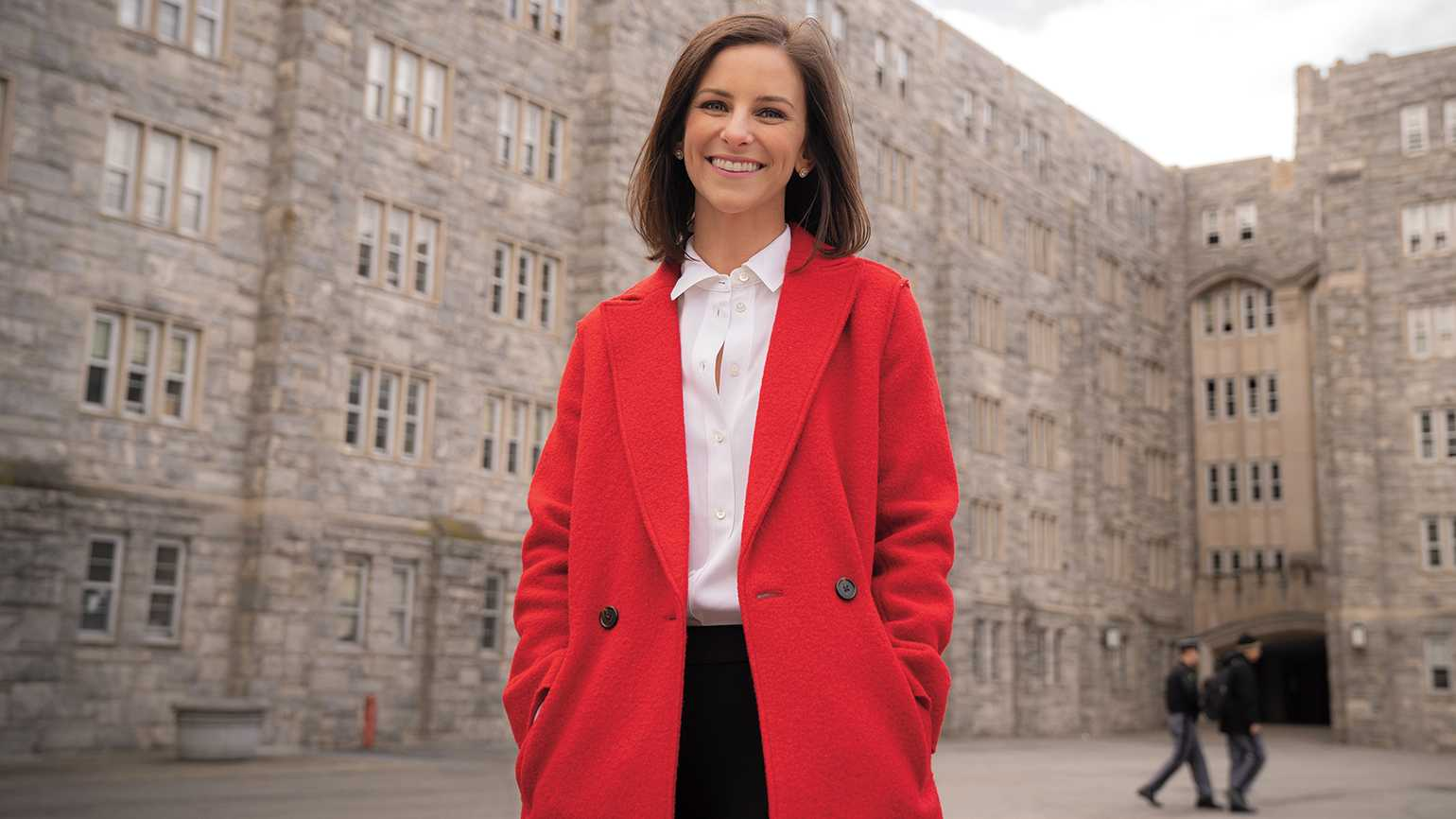 'West Point was a great place to be a kid,' Claire says.
