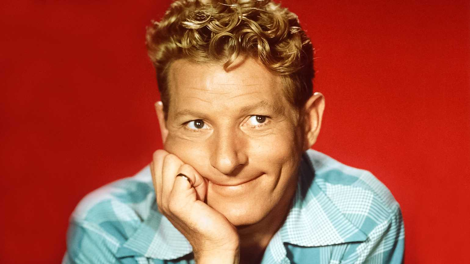 Comedian and actor Danny Kaye