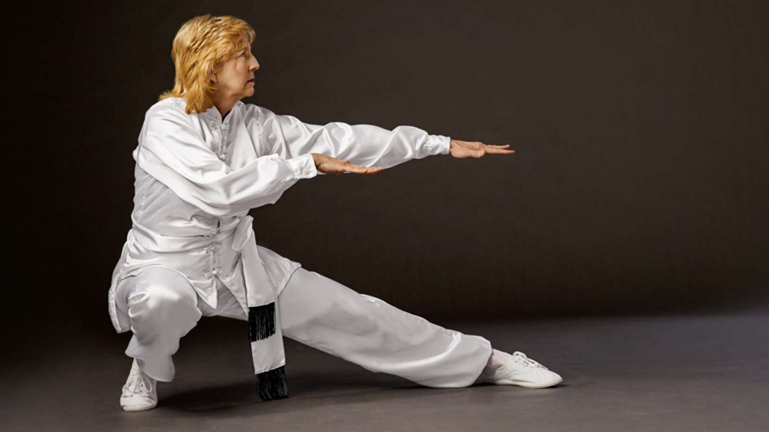 Mikki Davis has found that tai chi integrates very well with her faith.