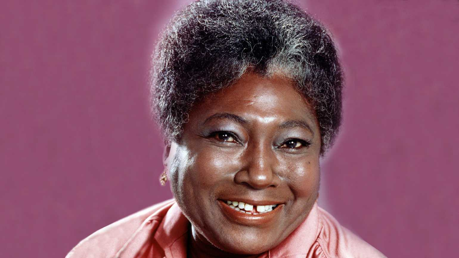 Actress Esther Rolle, star of the popular 1970s sitcom Good Times