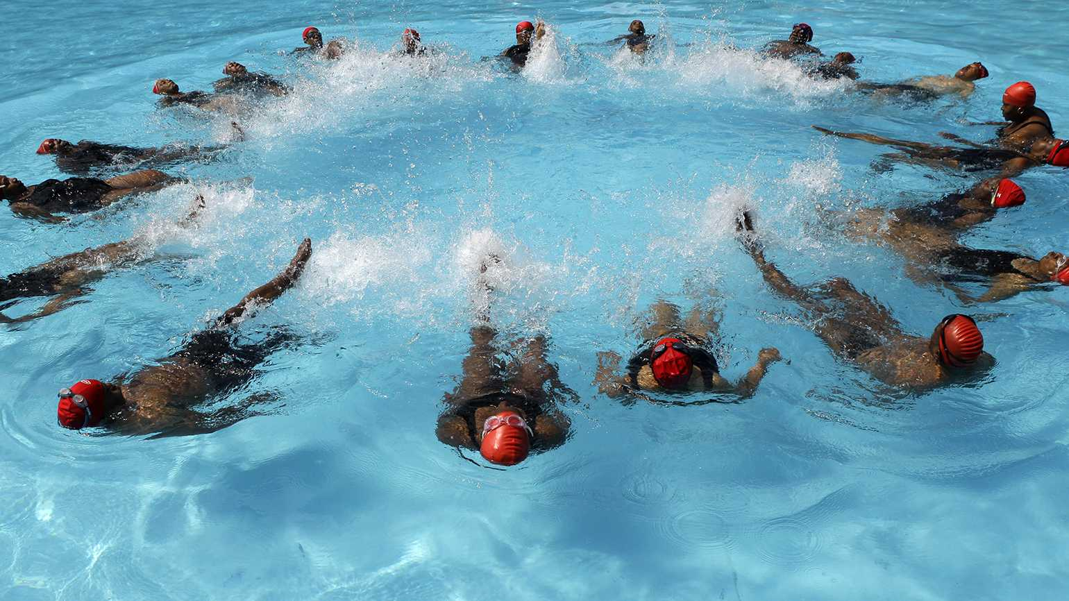 This Senior Synchronized Swim Team Finds Healing in the Water