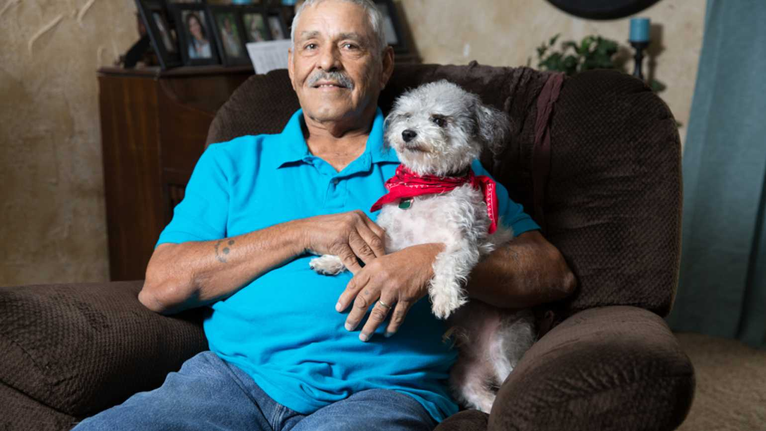 Guideposts: Tony Pena and his canine pal, Homer