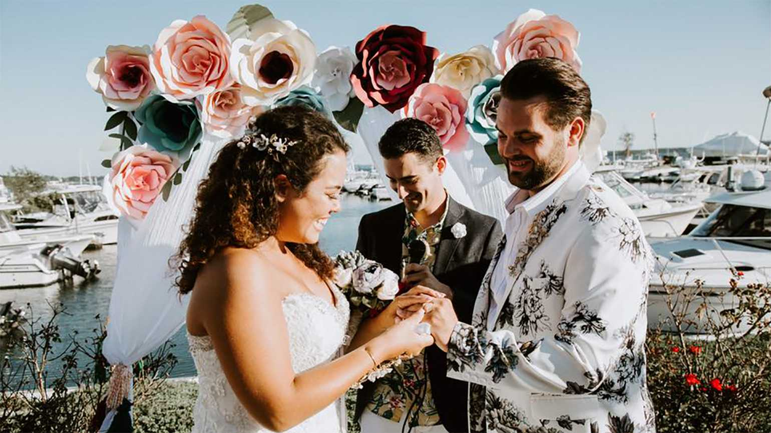 Keriann Otano and Dane Suarez's wedding photo