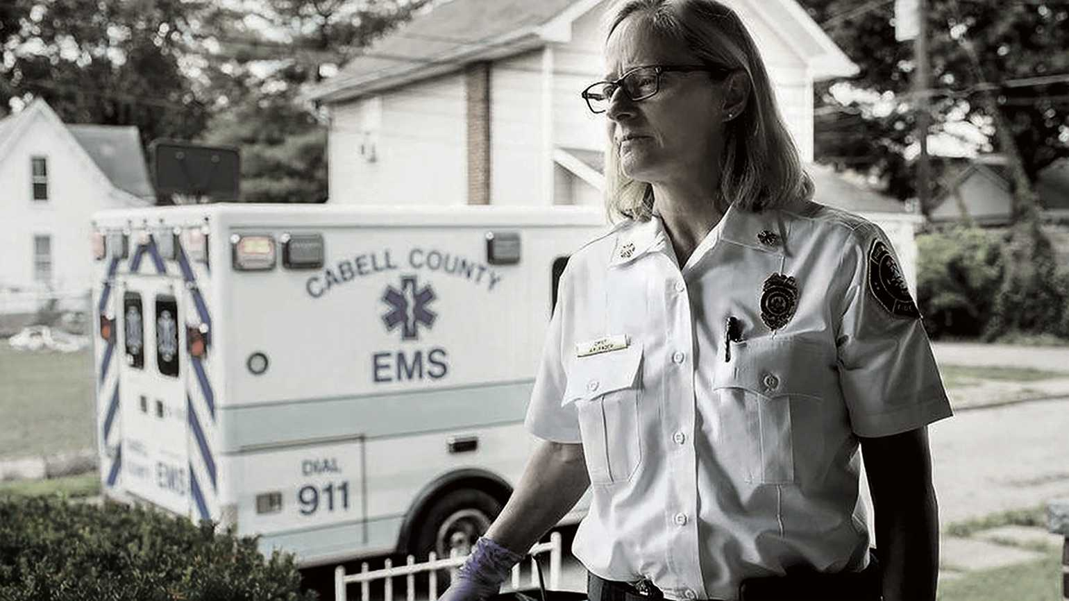 Jan Rader, fire chief of Huntington, West Virginia