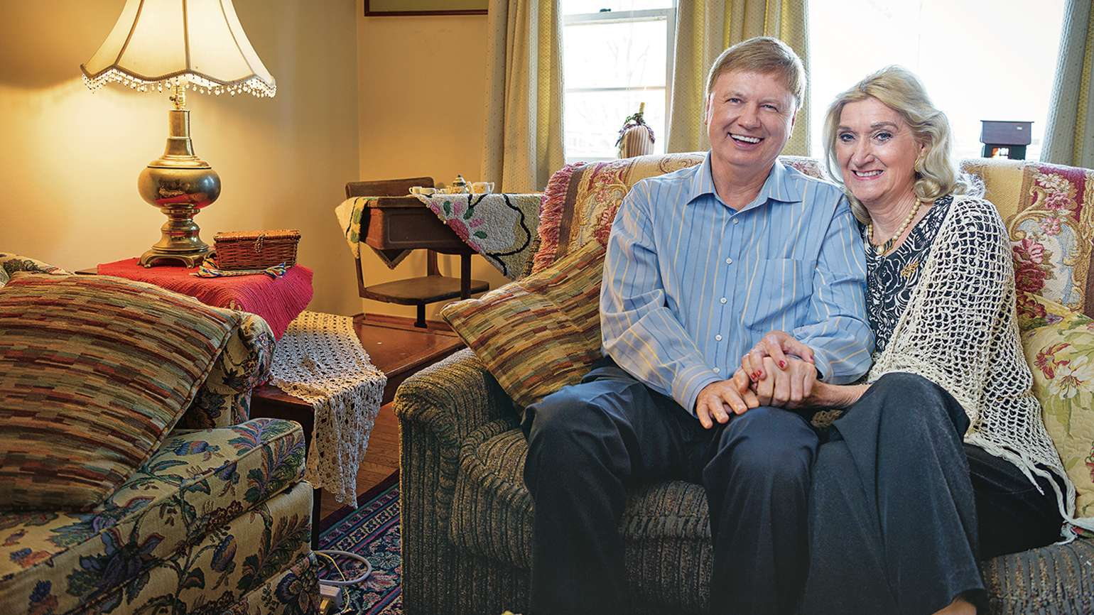 John and his wife, Trish, are closer than ever today