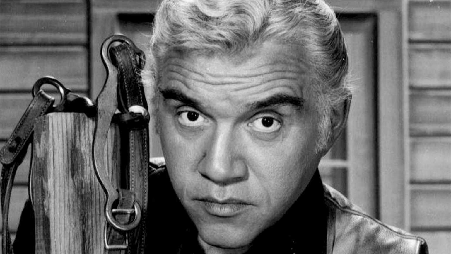 Lorne Greene as Bonanza's Ben Cartwright