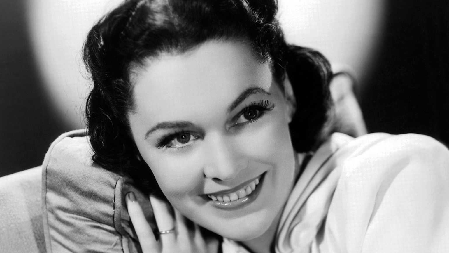 Actress Maureen O'Sullivan