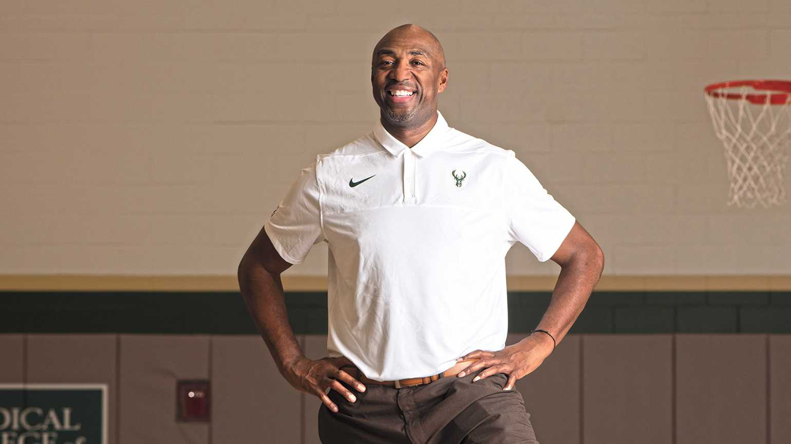Author and former NBA All-Star Vin Baker