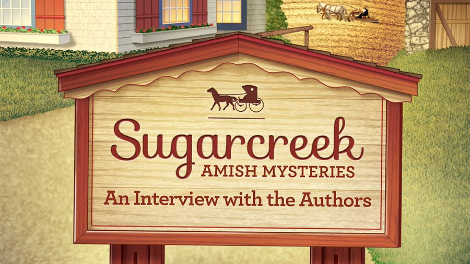 A cover image from Guideposts Books' Sugarcreek Amish Mysteries series