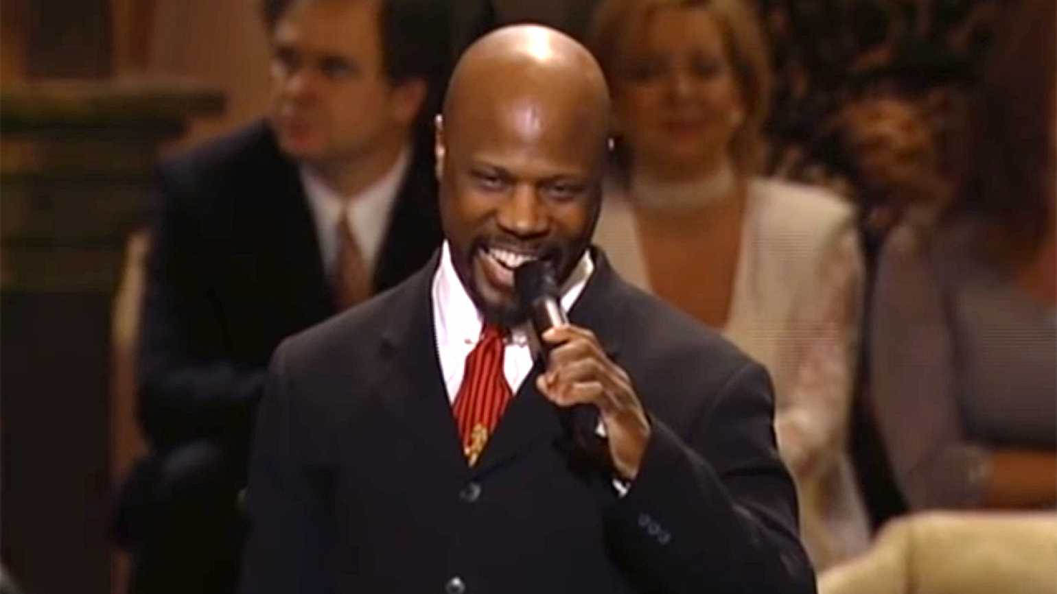 Acclaimed gospel singer Wintley Phipps performs at Carnegie Hall